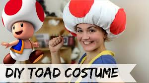 diy toad costume no sew you