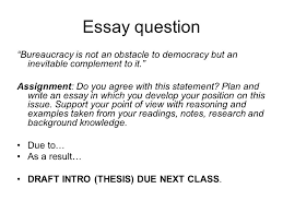 bureaucratic accountability who s in charge ppt video online  8 essay