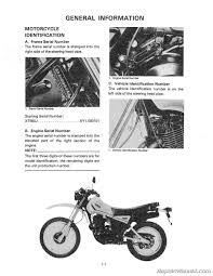 1982 yamaha xt550 motorcycle service repair maintenance manual 1982 yamaha xt550 manual page 2