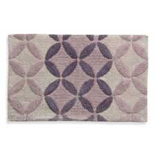 extremely ideas purple bathroom rugs bath from bed beyond lacey monochromatic circle rug ikea runner throw