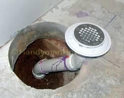 basement shower drain shower drain installation
