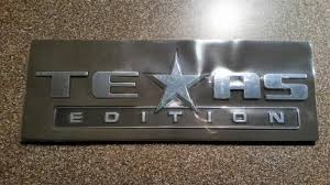 You Get One Guess As To Where 'TEXAS EDITION' Badges Come From