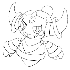 Spectacular pokemon x and y chespin. Hoopa Coloring Pages That Are Inventive Leslie Website