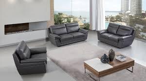 american eagle ek092 gray italian leather sofa set superco tv appliance furniture