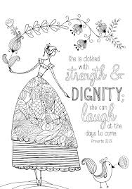Coloring page from Coloring Book for Mom | Bible journal ...
