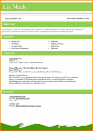 Best Cv Templates Word Best Resume Format 2016 Registered Nurse