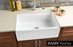 large fireclay single bowl reversible kitchen sink
