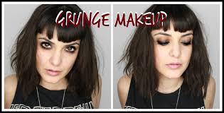 grunge makeup hair tutorial