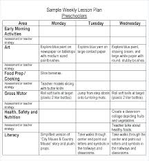 Free College Schedule Class Schedule Template Word College Timetable Monthly