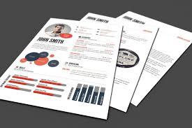 25 Creative Infographic Resumecv Templates Decolorenet