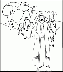 Abraham And Gods Promise Coloring Page New Abraham Coloring Pages