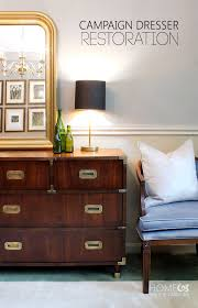 campaign style dresser. Beautiful Campaign Dresser Restoration Throughout Style