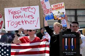 Image result for trump immigration policy of separating families