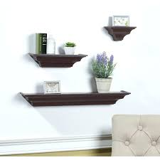 floating shelf set 3 piece floating shelf set floating wall shelves set of 3