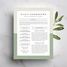 Buy Resume Templates Best Of 24 Beautiful Resumes You Can Buy On Etsy Taryn Williford