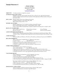 Medical Assistant Resume With No Experience Cardiology Medical