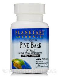 <b>Full Spectrum Pine Bark</b> Extract 150 mg - 60 Tablets