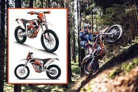 2018 ktm freeride 250 f. Contemporary 250 Continuing With The Ultradynamic And Successful FREERIDE Range KTM  250 F Is Newly Presented Model A Stateoftheart 250cc DOHC  To 2018 Ktm Freeride F E