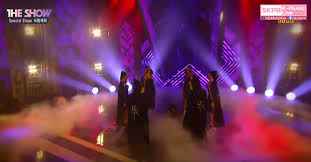 "Dream Catcher Satanic Dreamcatcher's ""Fly High"" Performance On 'The Show' Consisted Of A 31"