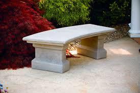 cement garden bench. Fine Cement And Cement Garden Bench A