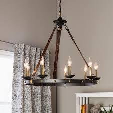 black chandelier lighting. Cavalier 9-light Black Chandelier Lighting