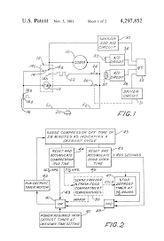 patent us4297852 refrigerator defrost control control of patent drawing
