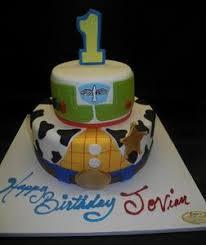 Toy Story Fondant 1st Birthday Cake B0262 Circos Pastry Shop