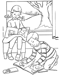 Easter Kids Coloring Pages Free Printable Easter Coloring