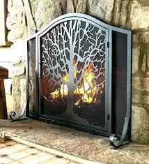gas fireplace screens decorative fireplace screens custom accessories fire for gas gas log fireplace screen doors gas fireplace screens