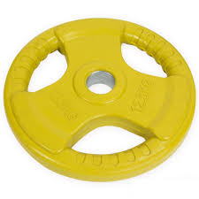 olympic 2 tri grip rubber 12 5 kg weight plates