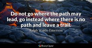 Path Quotes BrainyQuote Awesome Life Path Quote