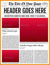 Old Newspaper Article Template Old Newspaper Template For Word Unique Blank Front Page Newspaper