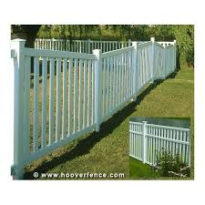 Image White Vinyl Bufftech Baron Vinyl Fence Sections Freedom Outdoor Living Bufftech Baron Vinyl Fence Sections Hoover Fence Co