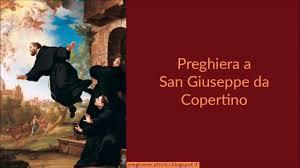 Preghiera a San Giuseppe da Copertino - YouTube