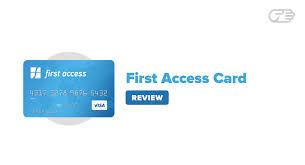 first access card reviews ideal credit for bad