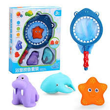 Buy Lanlan <b>4Pcs</b>/ <b>Set</b> Baby <b>Floating</b> Bath Toys Lovely Soft Plastic ...
