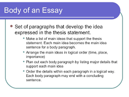 elements of an effective essay thesis sentence 15