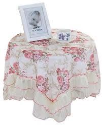 <b>High</b>-<b>Quality Flowers Pattern</b> Tablecloth,Decorative Table Cloth ...