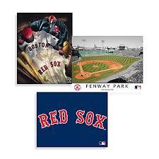 mlb boston red sox canvas wall art on boston red sox canvas wall art with mlb boston red sox canvas wall art bed bath beyond
