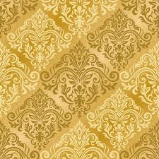 Gold Damask Background Luxury Golden Damask Seampes Pattern Vector 02 Free Download