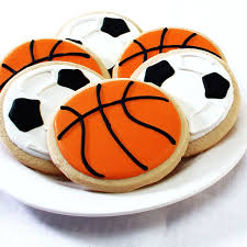 Soccer Ball Icing Decorations Soccer Ball Basketball Cookie Gift Box 32