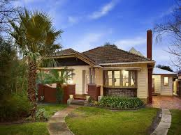 Small Picture Rendered brick californian bungalow house exterior with picket
