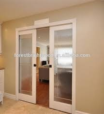 interior sliding glass pocket doors. Wood Interior Sliding Frosted Glass Pocket Doors - Buy Doors,Glass Door,Frosted Product On Alibaba.com R