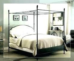 wood canopy bed king – podiatrist.website