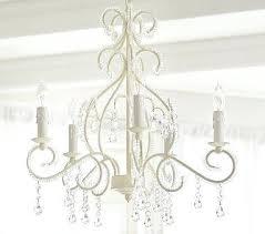 kids bedroom chandelier because every little girl needs a fabulous chandelier white chandelier pottery barn kids