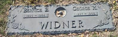 Bernice Widner (1890-1964) - Find A Grave Memorial