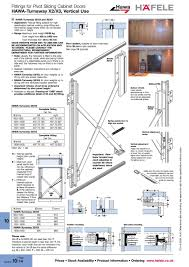 closed door drawing. Fittings For Pivot Sliding Cabinet Doors HAWA-Turnaway Vertical Use Prices Stock Availability Product Information Ordering Www Hafele T-C-H--A-I TCHAI Closed Door Drawing V