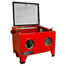 Abrasive Blast Cabinet Homak Table Top Abrasive Blast Cabinet Rd00920250 The Home Depot