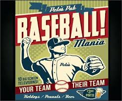 Baseball Brochure Template Baseball Flyer Template Poster Team Prinsesa Co