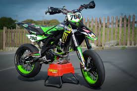 racing caf aprilia sxv 450 vdb 2007 monster energy special